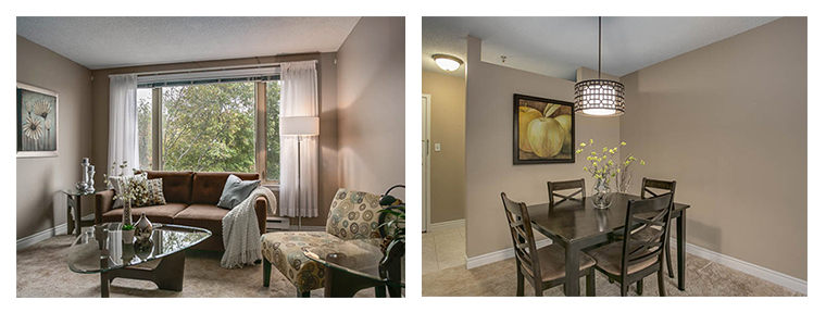 condo staging - rooms