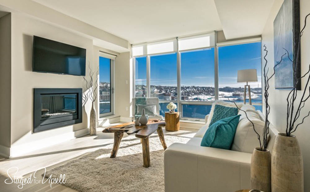 Kings Wharf vacant condo staging