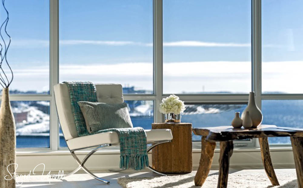 Kings wharf condo staging Halifax