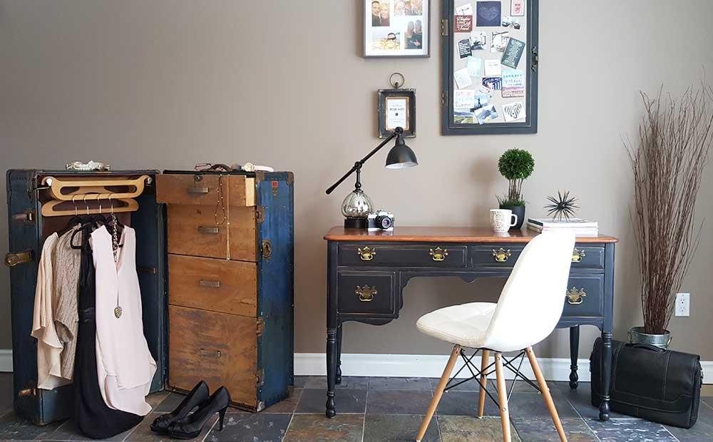 desk makover