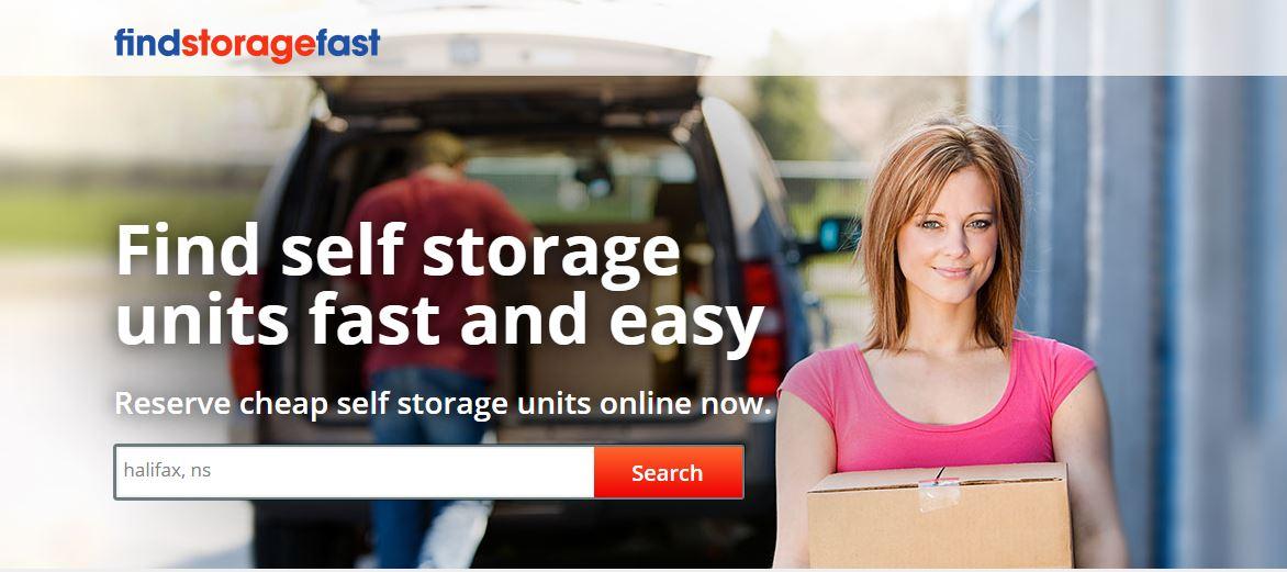 find storage fast