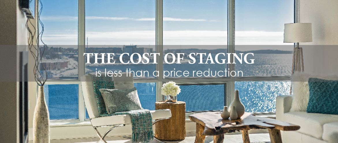 Rates fees staged for upsell for Cost to stage a house