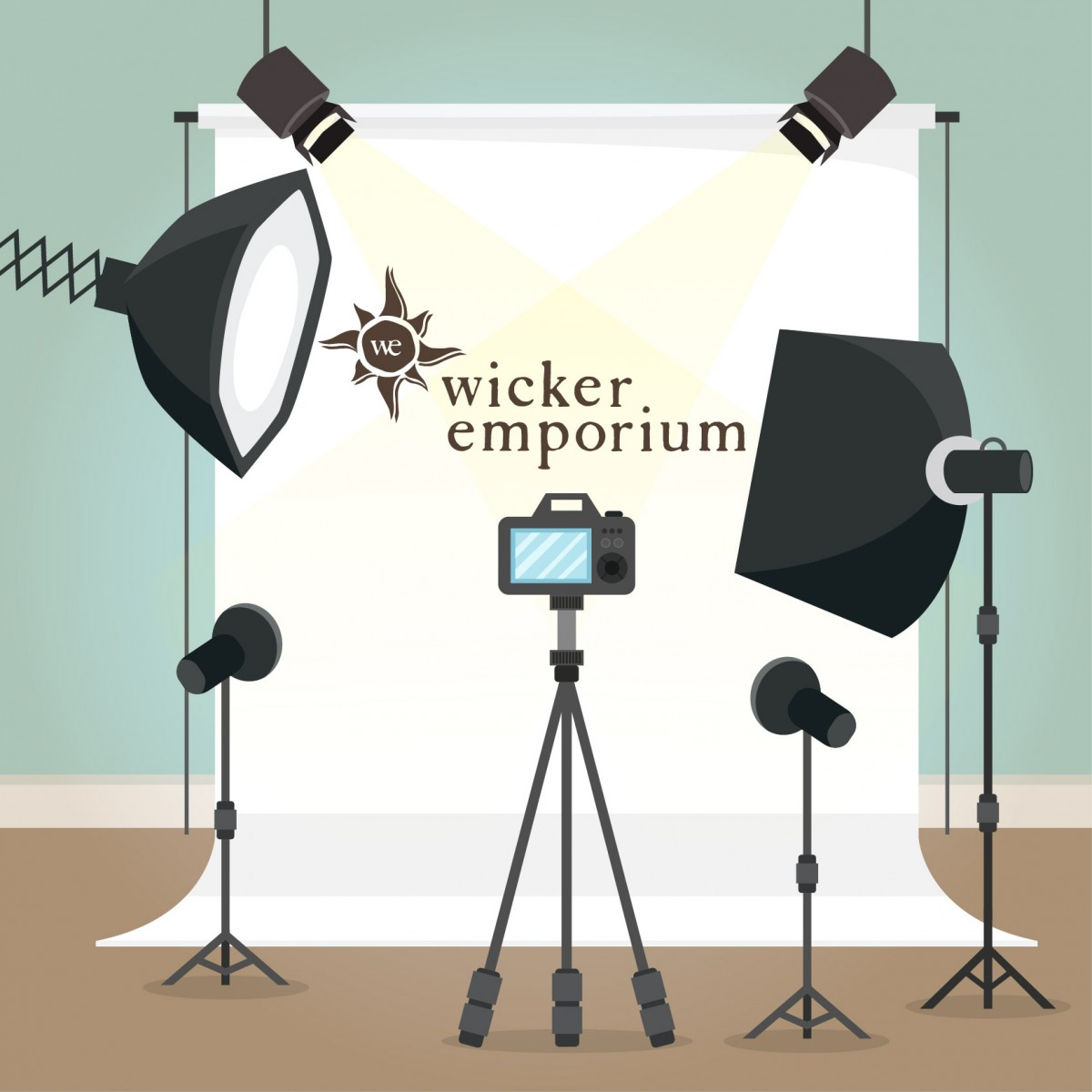 Staging and photostyling for Wicker Emporium