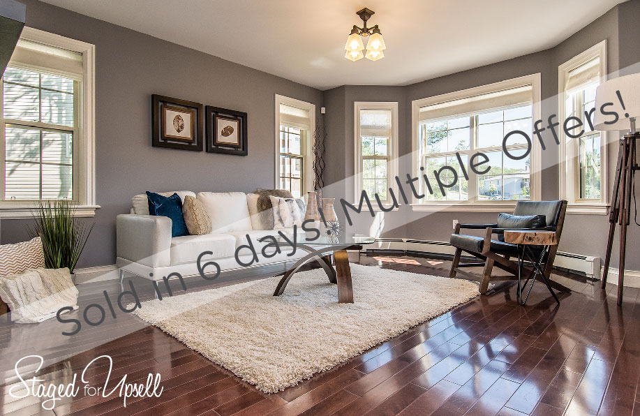 Sold in 6 days and multiple offers