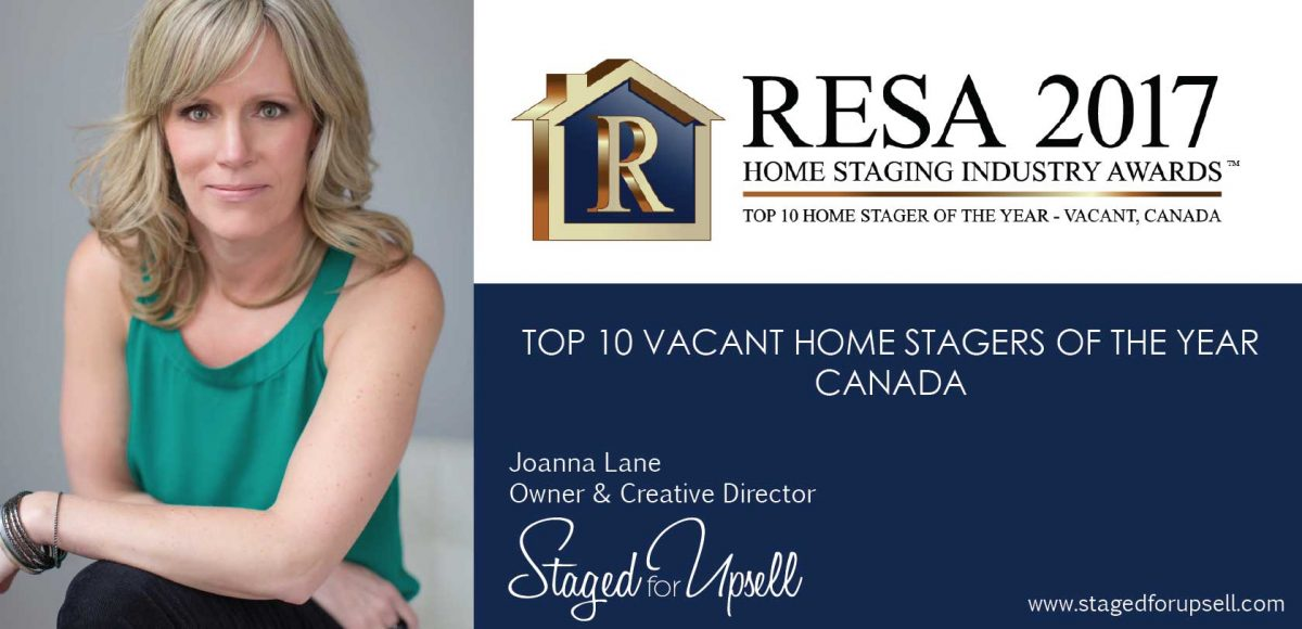 Joanna Lane Top 10 Vacant Home Stagers Canada