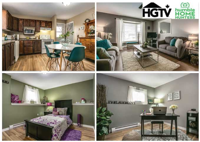 home staging for HGTV Humble Home Hunters