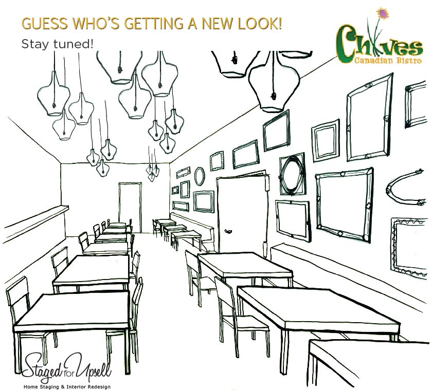 Chives Restaurant renovation project