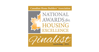 National Award for Housing Excellence in Marketing